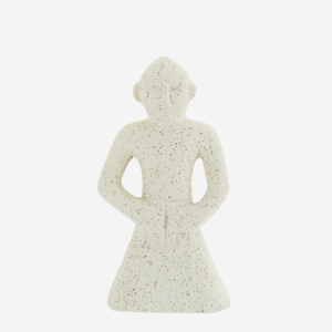 Madame Stoltz -Standbeeld - wit -S