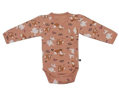 Wrap Body - Sweet animals pink