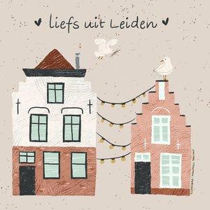 MarjoMaakt - Kaart - Liefs uit Leiden