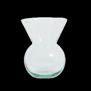 UNC - bloemenvaas - gerecycled glas