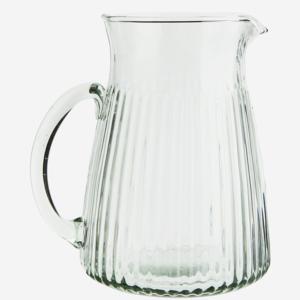 Madame Stoltz - karaf - ribbel glas