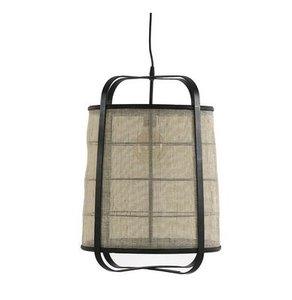 Pomax Hanglamp Mien zwart bamboe