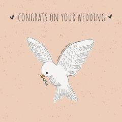 MarjoMaakt - Kaart - Congrats on your wedding