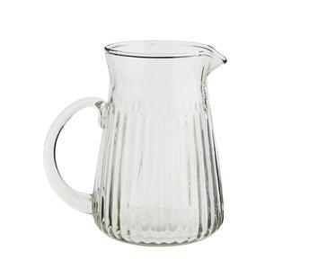 Madame Stoltz - karaf - ribbel glas - small