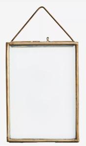 Madame Stoltz - brass fotolijst hang 13 x 18