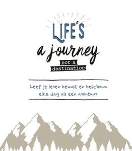 Boek - Life's a journey