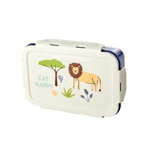 Rice - Lunchbox - Jungle - blauw