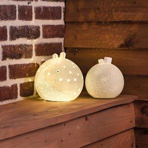 Rader - Lichtbol - huisjes