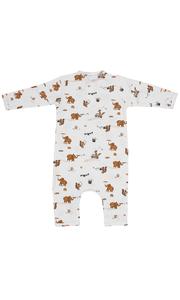 Kids up Baby - Jumpsuit dierenprint