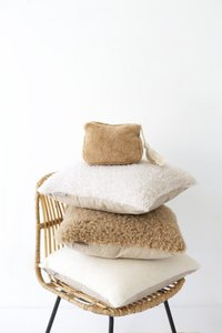 Goround - kussen - fake fur - Wooly