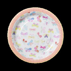 Rice paper plates vlinders