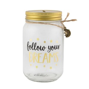 Sass & Belle Spaarpotje Follow Your Dreams