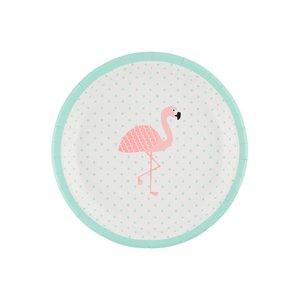 Sass & Belle Papieren bordjes flamingo