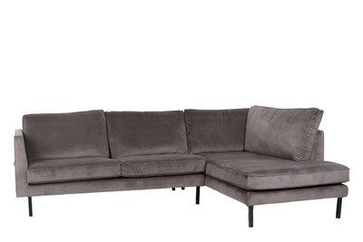 Hoekbank Met Lounge Deel.Lifestyle Perugia Bank Velvet Lounge Sofa Diverse Kleuren