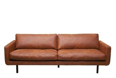 Lifestyle genua sofa leer cognac