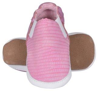 Melton leren schoen roze