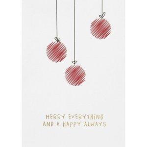 Räder - Kerstkaart - Merry everything