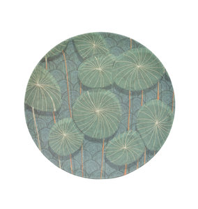 UNC Bamboe bord Nymphaea
